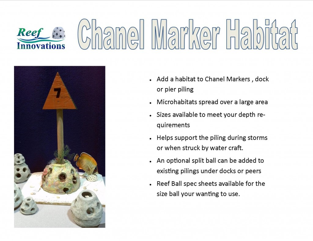 Chanel Marker Habitat
