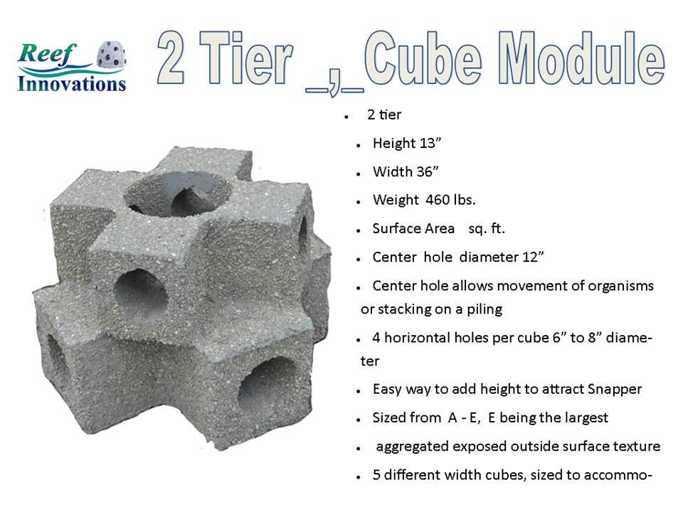 2 Tier Reef Cube