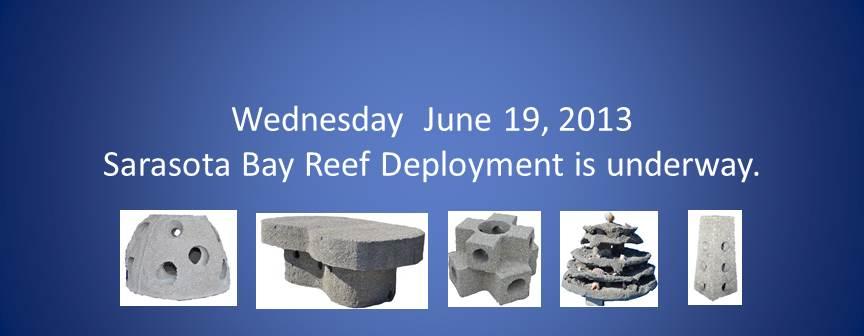 Sarasota Reef Deployment