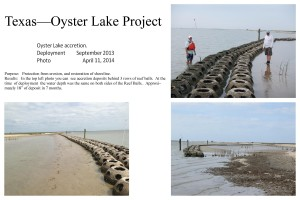 Texas Oyster Lake 2013