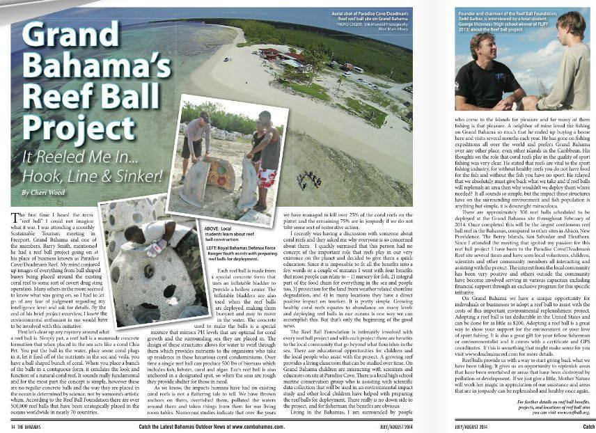 Grand Behama Reef Ball Project